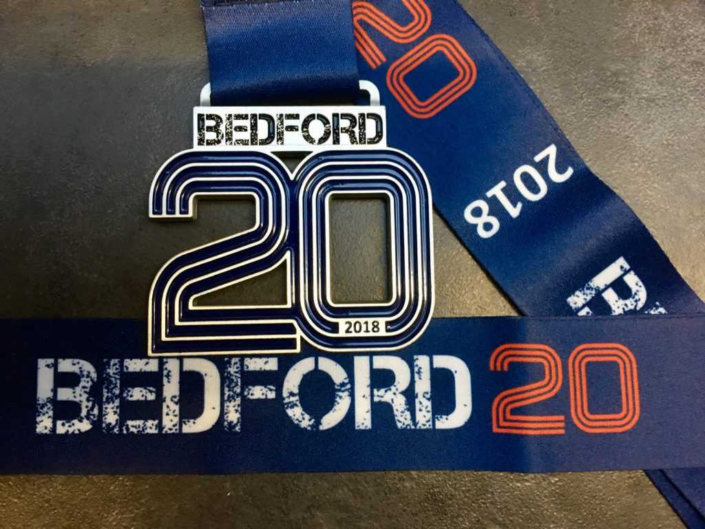 Amazing BEDFORD 20 medal design