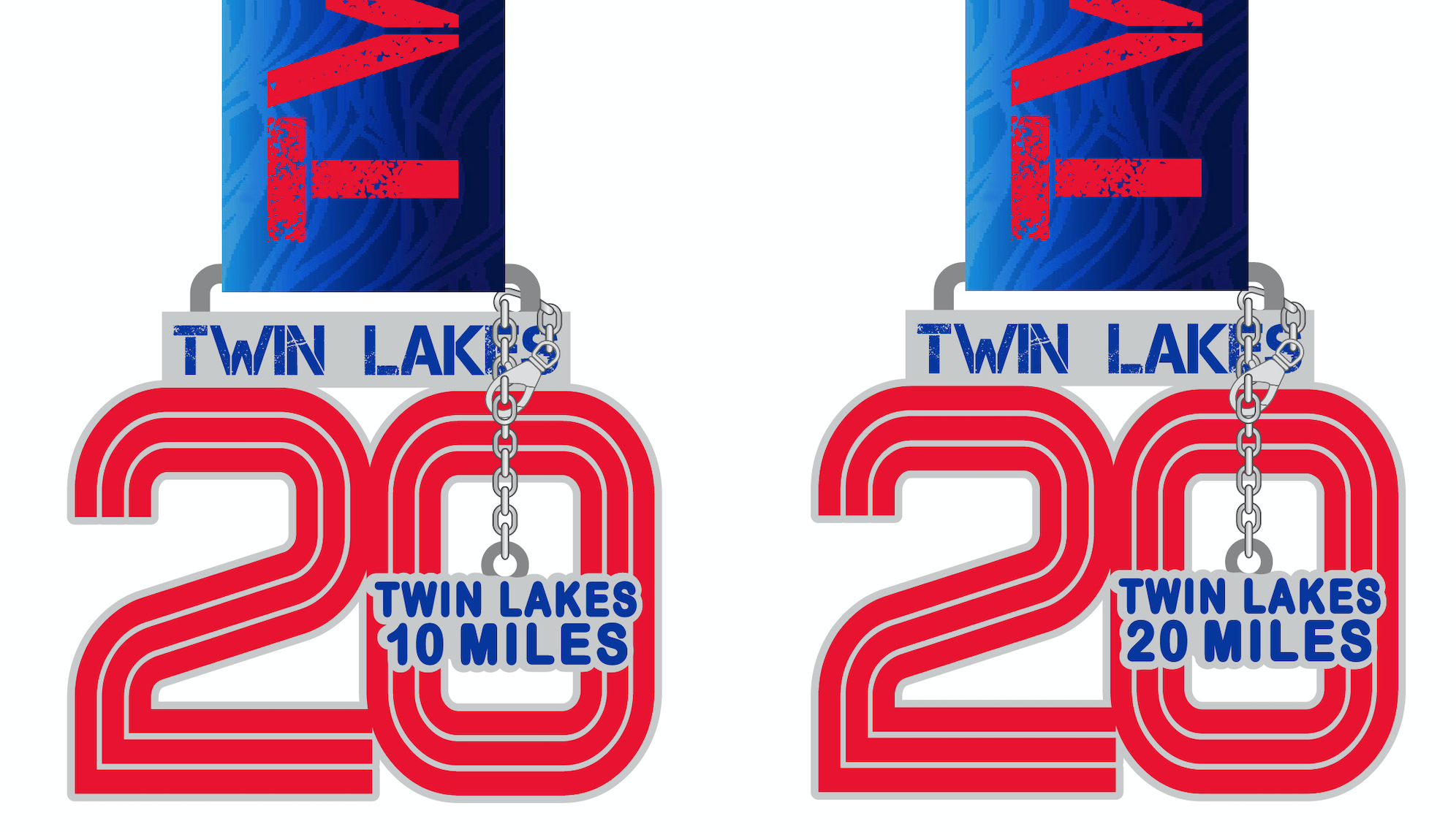 Twin Lakes 20 Medals